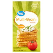 Great Value Multi-Grain Crackers, 15 oz