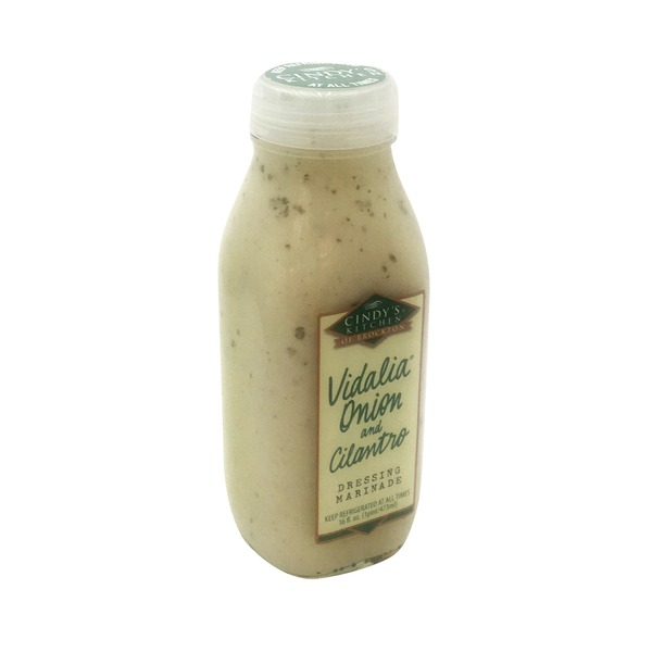 Cindy's Kitchen of Brockton Vidalia Onion and Cilantro Dressing Marinade