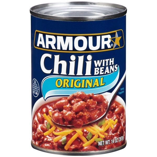 Armour Original with Beans Chili