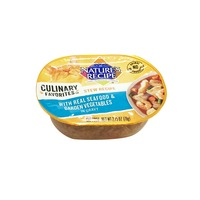 Nature's Cat Culinary Favorites Seafood & Vegetable Stew