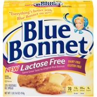 Bluebonnet Lactose Free 53% Vegetable Oil Spread
