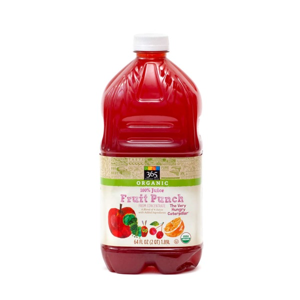 365 Organic Fruit Punch