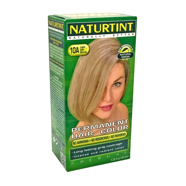 Naturtint Permanent Hair Colorant 10A Light Ash Blonde