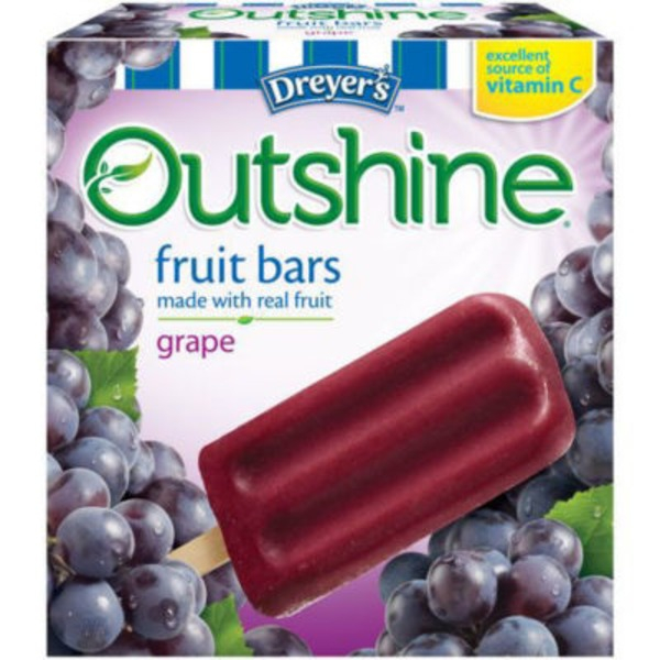 Edy's Outshine Grape Fruit Bars