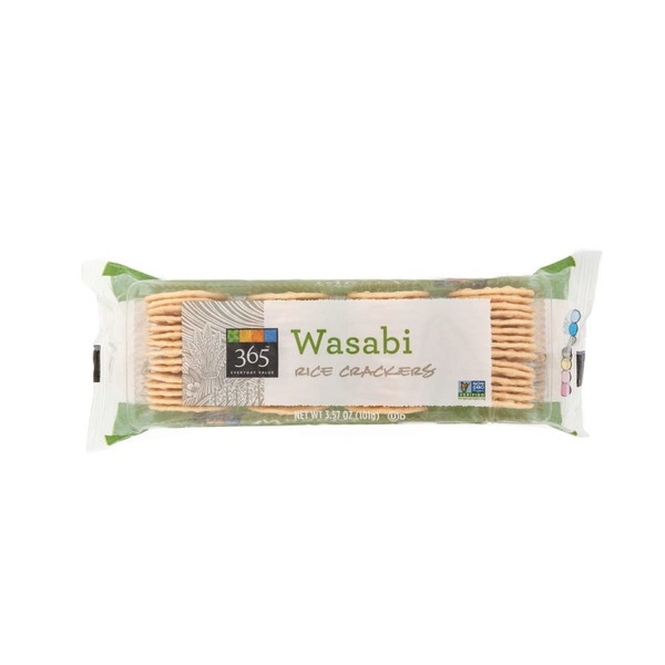 365 Wasabi Rice Crackers