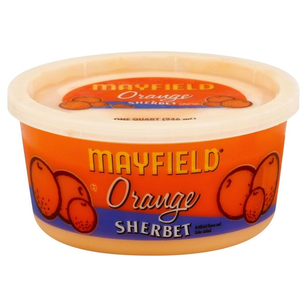 Mayfield Orange Sherbet