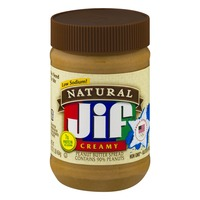 Jif Natural Creamy Peanut Butter Spread