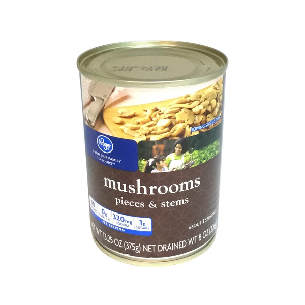 Kroger Mushrooms Pieces & Stems