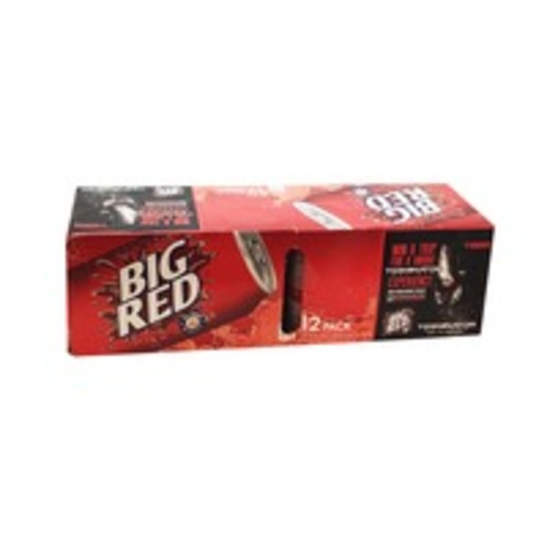 Big Red Soda - 12 PK