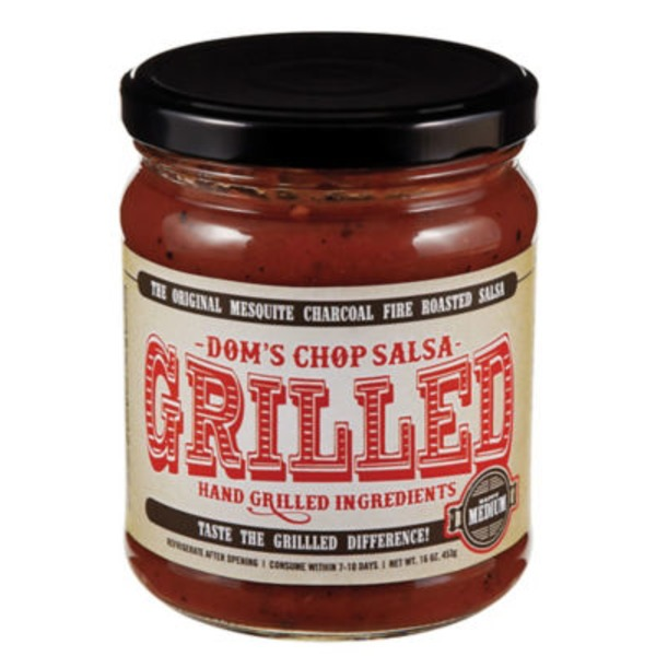 Doms Chop Salsa Grilled Medium Salsa