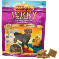 Zuke's Jerky Naturals Grain Free Tender Turkey Dog Treats