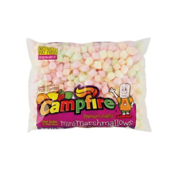 Campfire Fun Fruit Flavor Mini Marshmallows