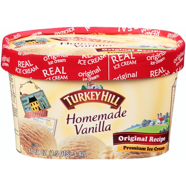 Turkey Hill Homemade Vanilla Original Recipe Premium Ice Cream