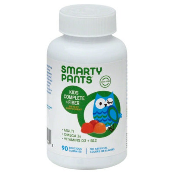 SmartyPants Kids Complete and Fiber Gummy Multivitamin 90 count