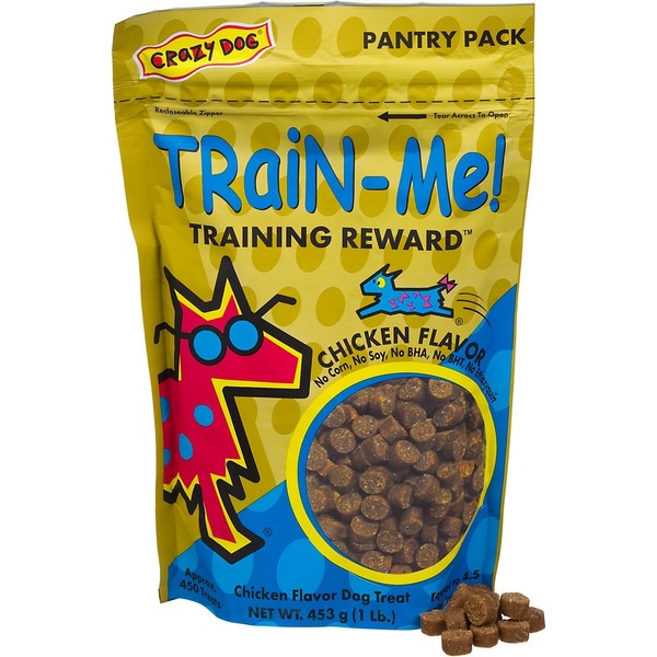 Crazy Dog Train Me Training Reward Chicken Flavor Dog Treat