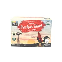 365 Organic Breakfast Blend City Roast Coffee Capsules