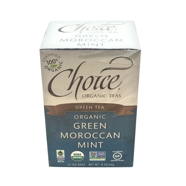Choice Organic Teas Green Moroccan Mint Tea