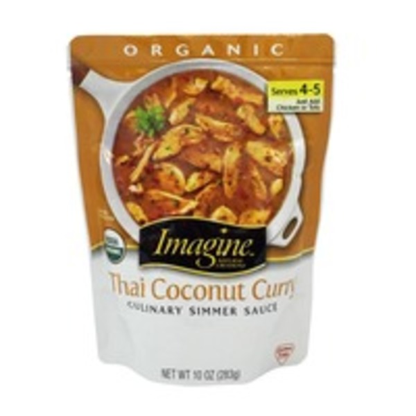 Imagine Foods Organic Thai Cocnut Simmer Sauce
