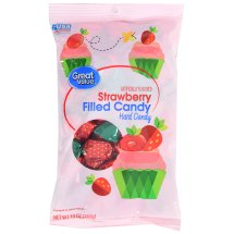 Great Value Strawberry Filled Hard Candy, 10 oz
