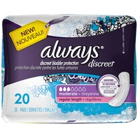 Always Discreet Moderate Regular Length Pads