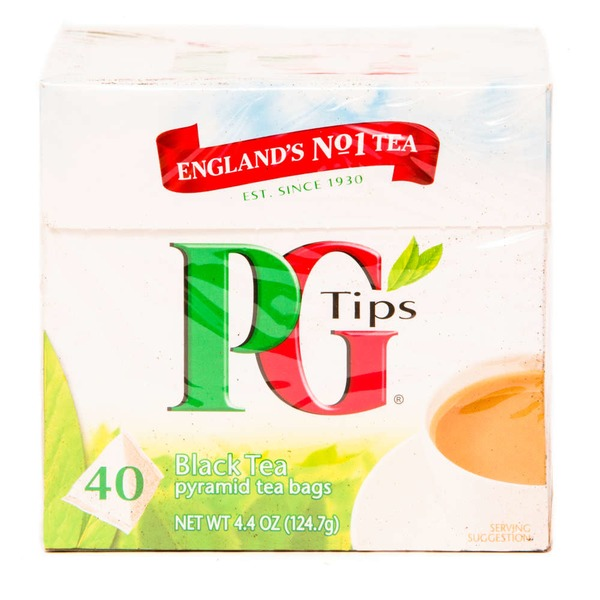 PG Tips Pyramid Bags Premiun Black Tea