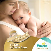 Pampers Premium Care Diapers, Size 2, 120 Diapers