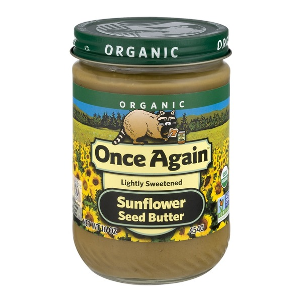 Once Again Organic Sunflower Seed Butter Lightly Sweetened