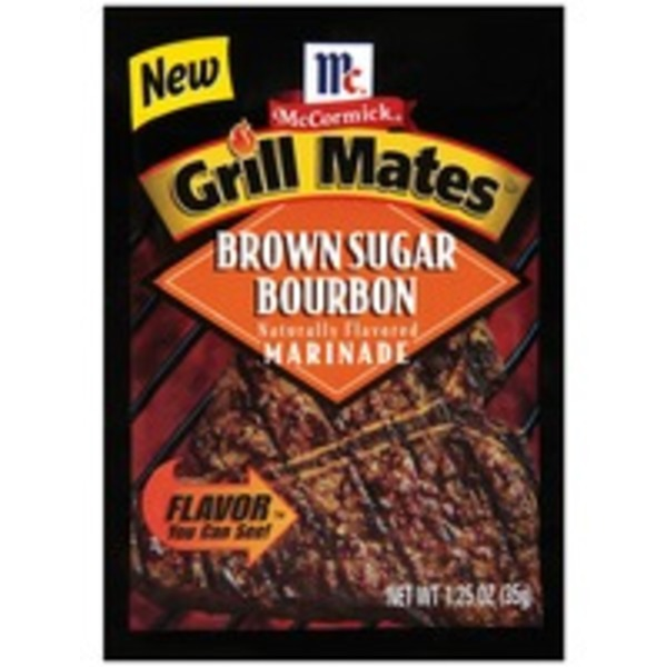 Mccormick Grill Mates Brown Sugar Bourbon Marinade