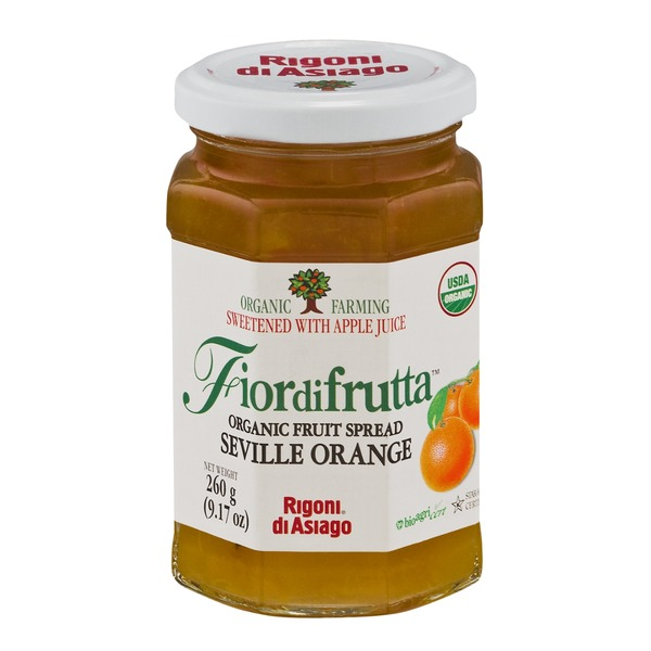 Fiordifrutta Organic Fruit Spread Seville Orange
