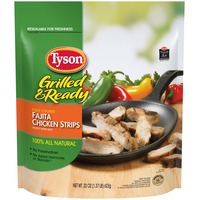 Tyson   Frozen Grilled And Ready Fajita Chicken Strips