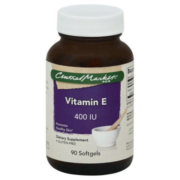 Central Market Vitamin E 400 IU Softgels