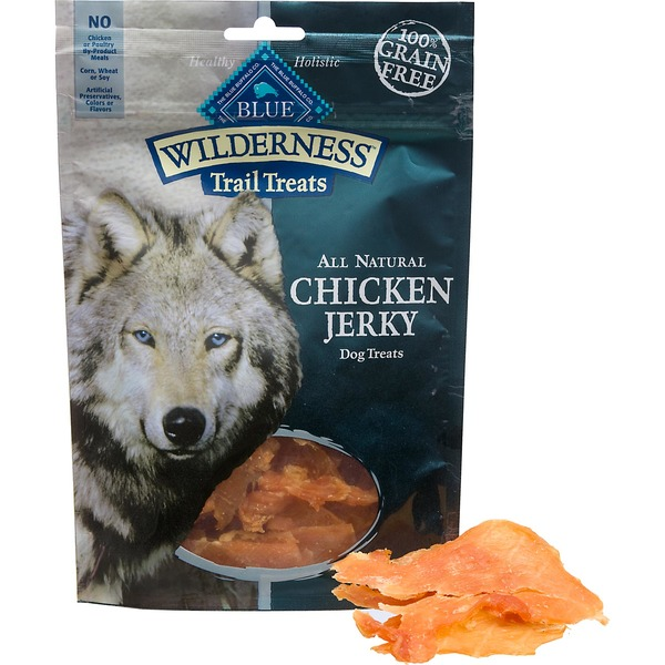 Blue Buffalo Wilderness Chicken Jerky Dog Treats