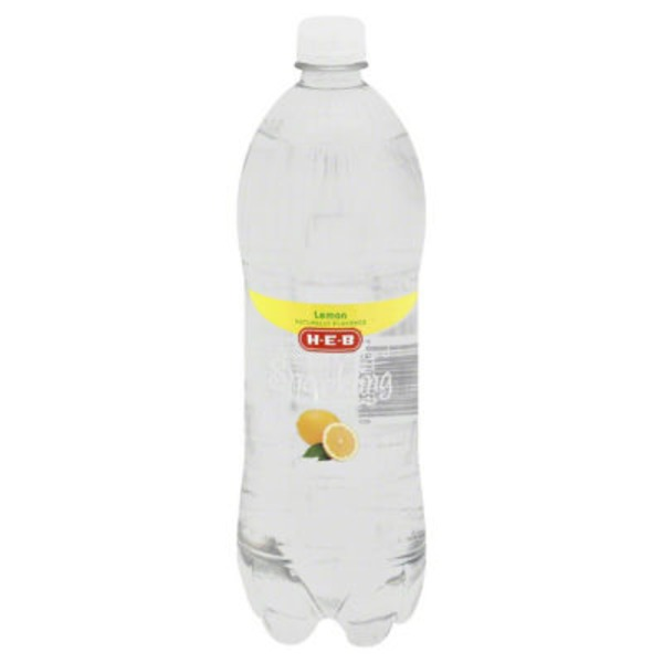 H-E-B Sparkling Lemon Water Beverage