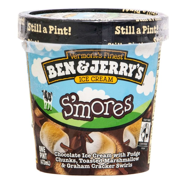 Ben & Jerry's S'mores Ice Cream