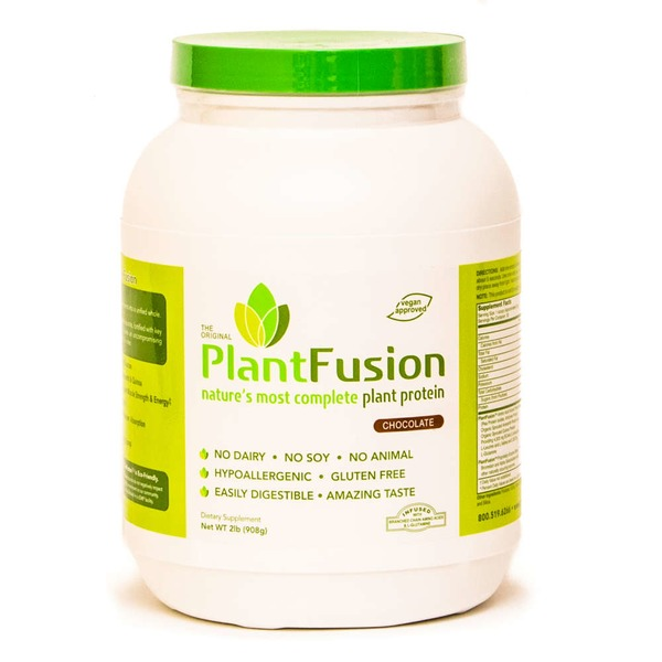 PlantFusion Chocolate Flavored Nature's Most Complete Plant Protein