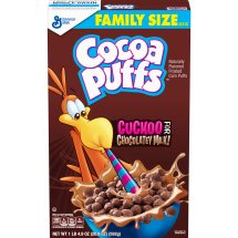 Cocoa Puffs Chocolate Cereal, 20.9 oz, 20.9 OZ