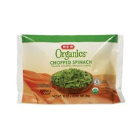H-E-B Organics. Steamable Chopped Spinach Leaves