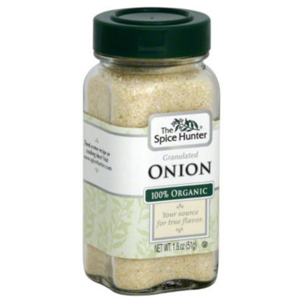The Spice Hunter Granulated Onion 100% Organic