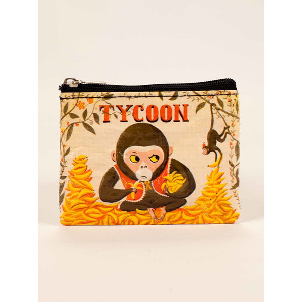 Blue Q Tycoon Coin Purse