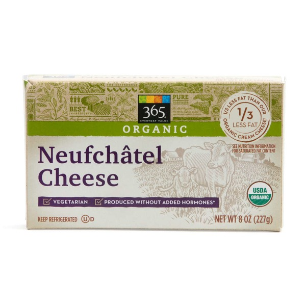 365 Organic Neufchâtel Cheese Bar