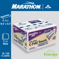 Marathon Ultra C-Fold Towels