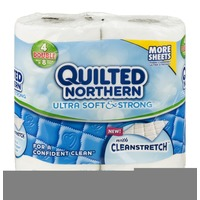 Quilted Northern Ultra Soft & Strong 2-Ply Bathroom Tissue - 4 CT