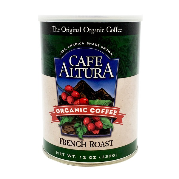Cafe Altura Organic Coffee French Roast