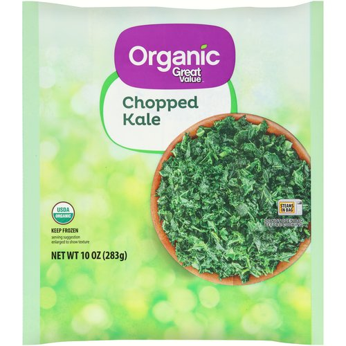 Great Value Organic Chopped Kale