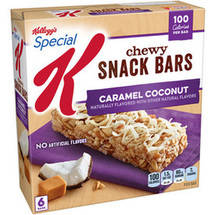 Kellogg's Special K Caramel Coconut Chewy Snack Bars