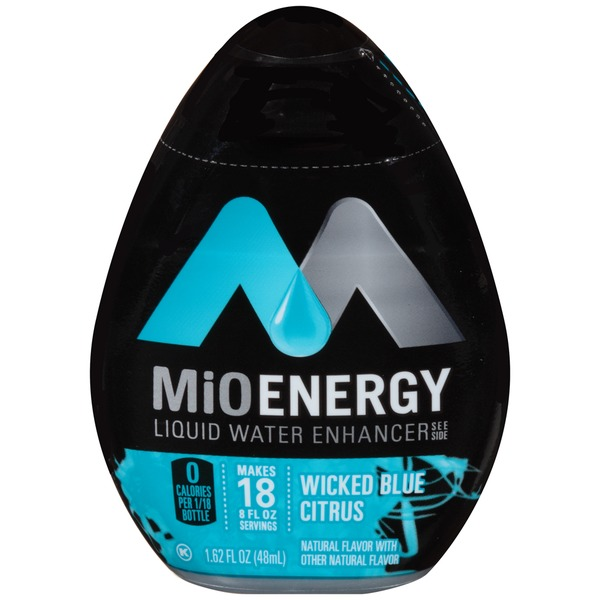 MiO Energy Wicked Blue Citrus Liquid Water Enhancer