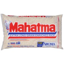 Mahatma Extra Long Grain Enriched Rice, 5 lbs