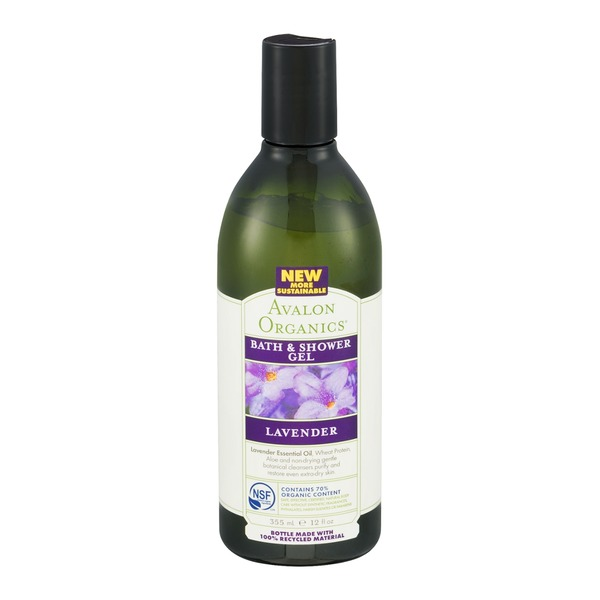 Avalon Organics Bath & Shower Gel Lavender