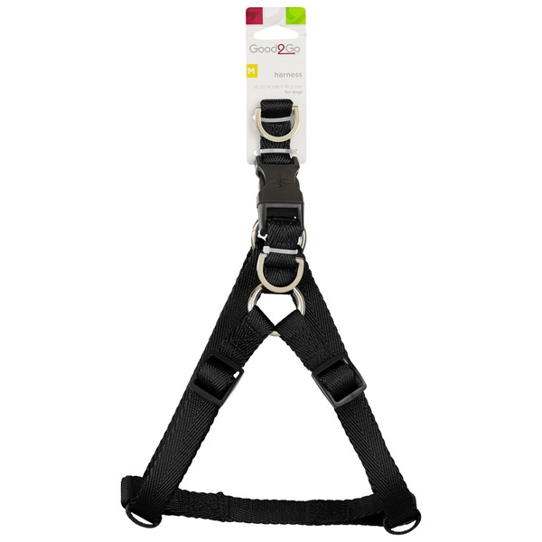 Good2 Go Medium Black Dog Harness