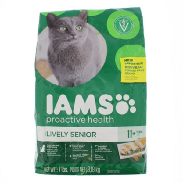 Iams ProActive Health Healthy Senior Cat Food